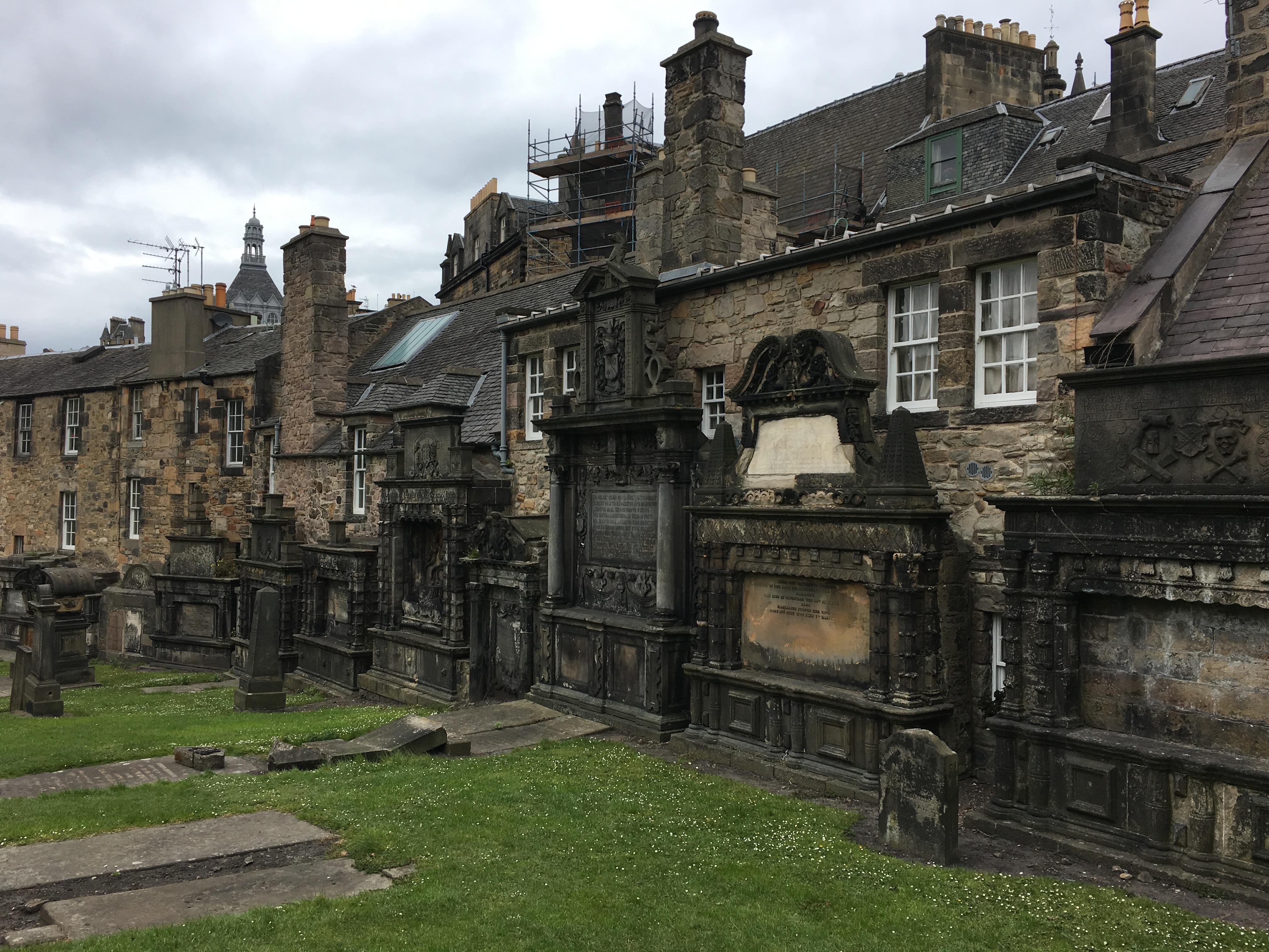 Edinburgh, Greyfriars Kirkyard