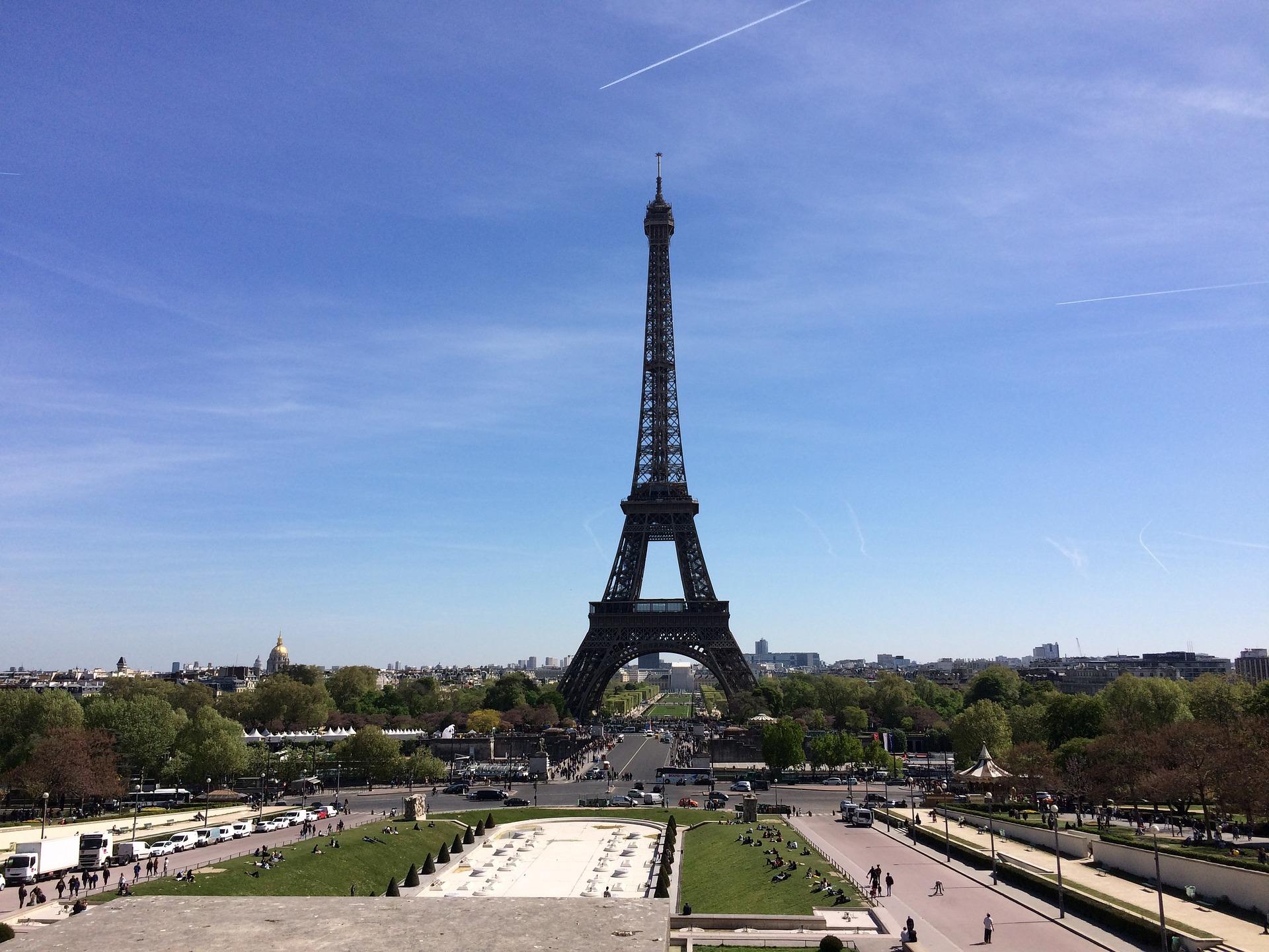 Parijs, de Eiffeltoren