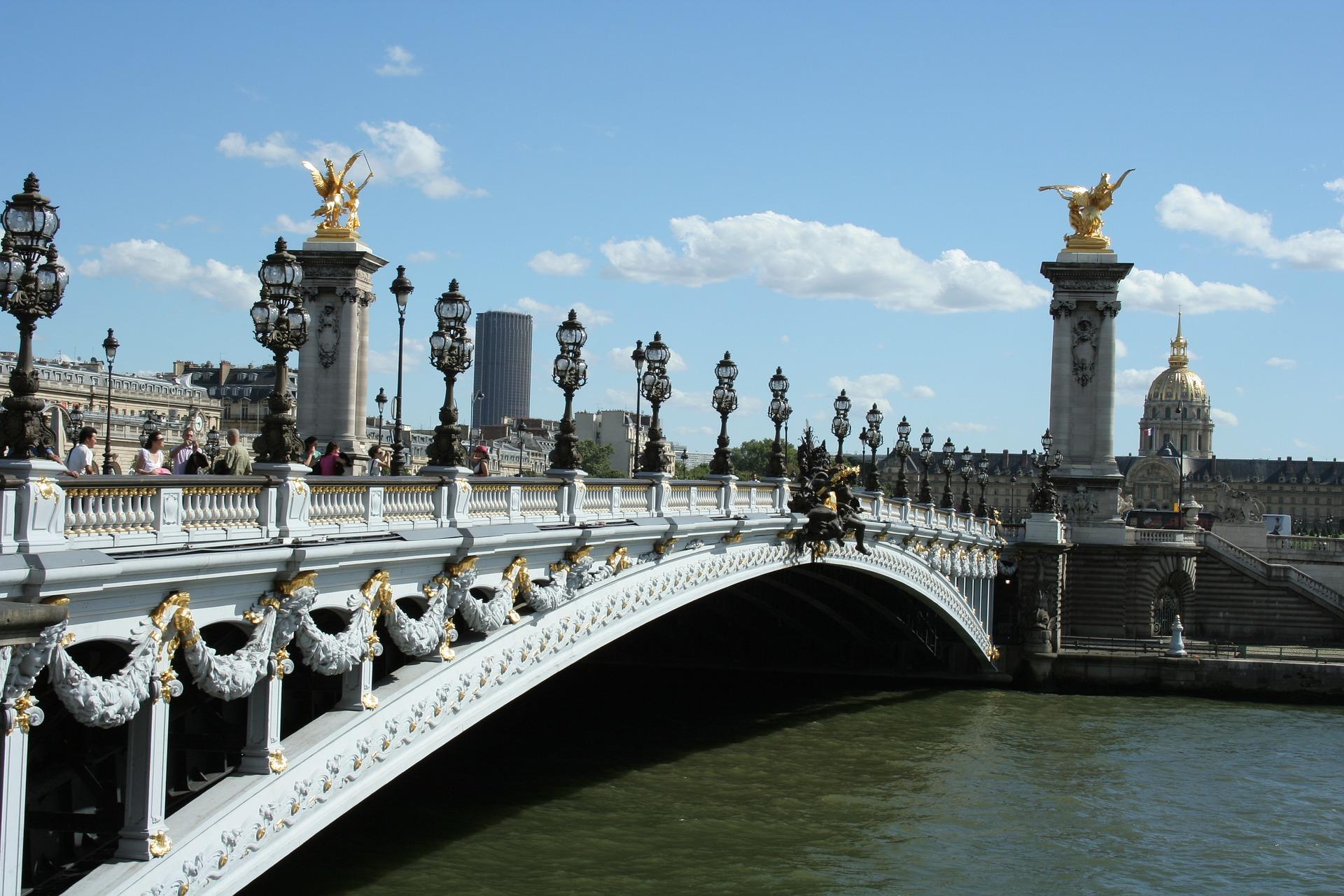Parijs, Pont Alexandre III