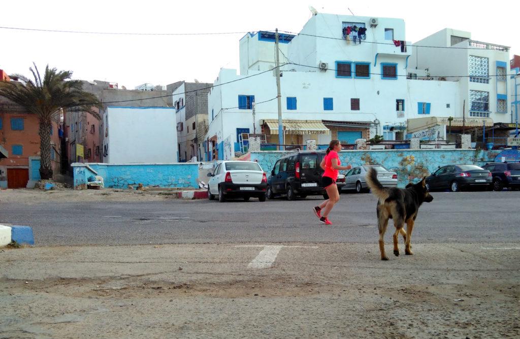 Hardlopen strand Taghazout
