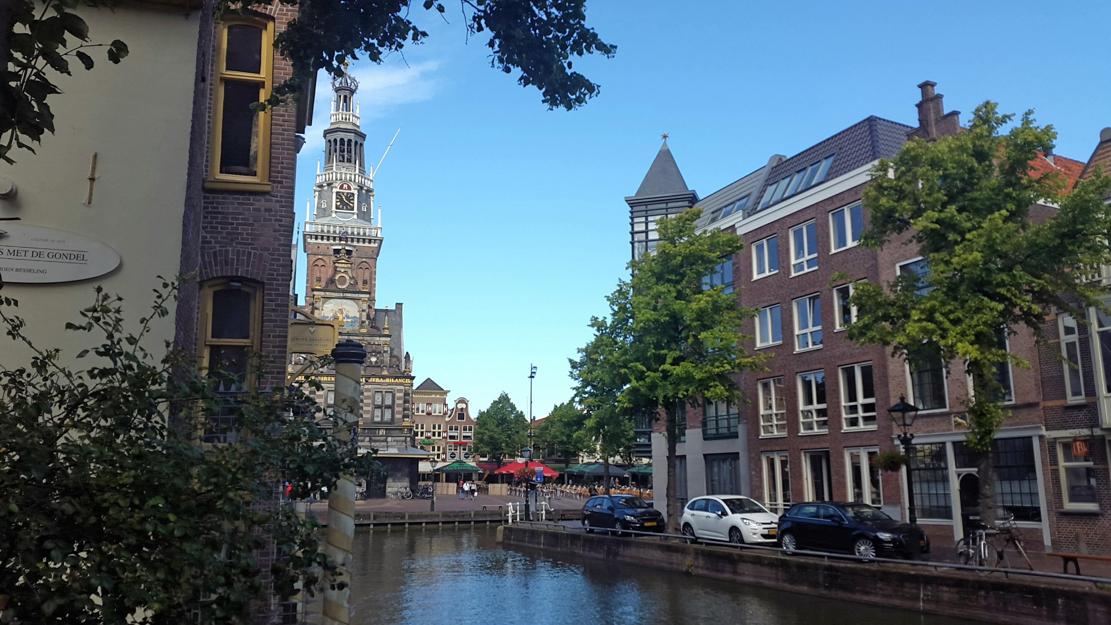 Alkmaar, uitzicht op het Waaggebouw